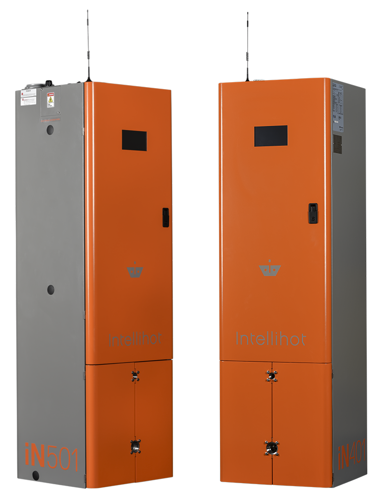 Commercial tankless gas water heaters